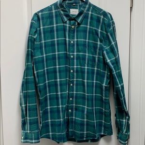 Long-sleeve button up